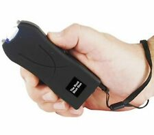 20,000,000 Volt Rechargeable LED POLICE BLACK Hand Stun Gun w/ taser HOLSTER NEW