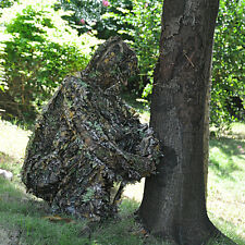 3D Hunting Camouflage Leaf Clothing Camo Jungle Sniper Archery Ghillie Suit Set