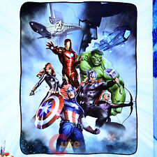 Marvel Avengers with Loki Fleece Blanket Microfiber Plush Throw  45x60