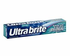 Ultra brite Baking Soda - Peroxide Whitening Toothpaste, Cool Mint 6 oz