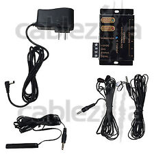 Hidden IR Remote Repeater extender system kit with 4 Infrared Emitter receiver