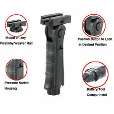 Folding Vertical Foregrip Tactical Grip 5 Position Weaver Picatinny Bar