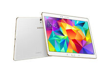 "Samsung Galaxy Tab S T805 White 10.5"" 16GB, WiFi & 4G SR/OB Excellent"