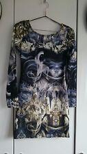 Crystal mini dress sz 8 BNWT