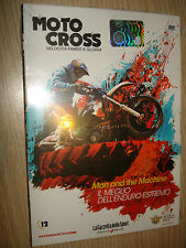DVD N°12 MAN AND THE MACHINE DELL'ENDURO ESTREMO MOTO CROSS VELOCITA' FANGO