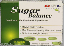 25 BOXES GSL SUGAR BALANCE SUPPLEMENT HIGH GLUCOSE BITTER MELON EXTRACT 1700mg