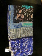 NWT CHRISTIAN LACROIX 100% WOOL  SCARF 45x180cm MADE IN ITALY