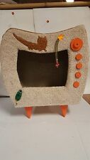 Cat and kitten condo.Handmade kitty furniture.NEW feline bed and hide out.