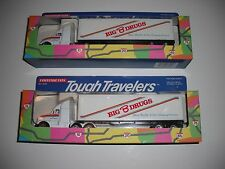 1990 Tootsietoy - Tough Travelers Big B Drugs Tractor and Trailer Die-Cast Metal