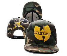 MEN'S Women's Wu-Tang Snapback style Adjustable Baseball hat HIP HOP CAMO cap