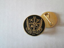a5 PORT VALE FC club spilla football calcio pins fussball inghilterra england