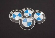 4pcs New Car Wheel Center Hub Caps Trim Sticker Emblem Styling For BMW 65mm