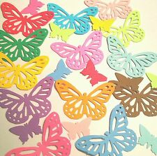 Choose colors Monarch Butterflies  confetti baby shower Birthday party wedding