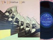 Boomtown Rats ORIG OZ LP Mondo bongo NM '80 with 4 inserts Bob Geldof New wave