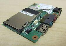Lenovo ThiknPad X201 x201i tarjeta de E/S 5 en 1 Lector de Tarjetas USB Audio módem 60Y5407