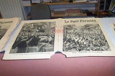 LE PETIT PARISIEN N° 401 1896 LE TSAR A PARIS HOCHE ACCLAME SUR HYMNE RUSSE