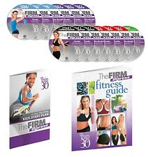 NEW THE FIRM EXPRESS 13 DVD BOXSET GET THIN IN 30 DAYS FITNESS GUIDE & KICKSTART