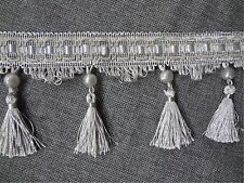 1 meter Tassel Craft Curtain Home Decoration Lace Beaded Colorful Fringe Trim