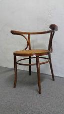 Armlehnstuhl Art Deco Bugholz Cafehausstuhl wie Thonet Chair Korb Armchair
