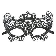 Fashion Sexy Elegant Eye Face Mask Masquerade Ball Carnival Fancy Party Black UK