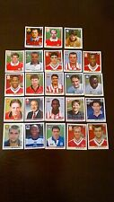 RARE - 23 Merlin Premier League 1996 Season Stickers (SHREDDIES Backs) - VGC