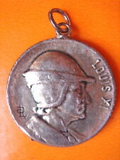 SUPERBE MEDAILLE LOUIS XI  DOUBLE FACE VINTAGE 70 NEUF/OLD NEW MEDAL