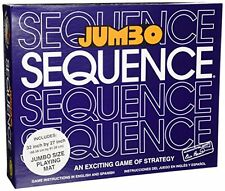 Jax Jumbo Sequence BOARD GAME SET, Box Edition Sequence GAME + Playing MAT