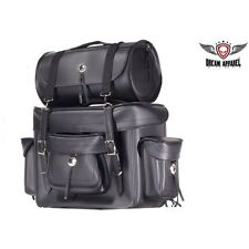 Plain Big Sissy Bar Motorcycle Biker Bag - FAST SHIPPING