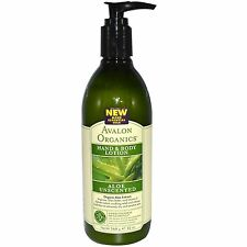 Avalon Aloe Vera Unscented Hand Body Lotion Orangic Aromatherapy sensitive 340g