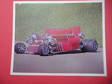 Rare Vintage Sex Machine California Show Car Photo Handout Card Hot Rod Custom