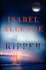 Isabel Allende~RIPPER~SIGNED 1ST/DJ~NICE COPY