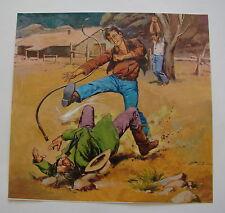 Originalzeichnung / Titelbild für Westernroman