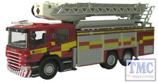 76sal001 Oxford Diecast OO Gauge strathclyde FIRE & RESCUE SOCCORSO in aereo POMPA
