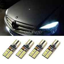 4x T10 LED Sidelight Parking Lamp 24SMD XENON WHITE For Mercedes Benz W204 07-12