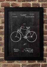 Velocipede 1890 H.A.Becker Patent Art A4 Fine Art-Print in Galeriequalität A4 01