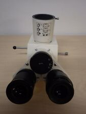 Zeiss Trinocular Microscope Head for Axioskop, PN 452910; Excellent Condition