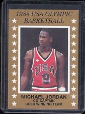 (1) MICHAEL JORDAN * CARDS 1984 OLYMPIC RC XRC ROOKIE BASKETBALL CHICAGO BULLS
