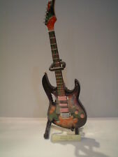 Miniature Guitar (24cm Tall) : STEVIE VAI IBANEZ JEM