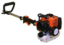 Petrol Long Reach Hedge Trimmer Pole Saw Strimmer Brush Cutter 5 in 1