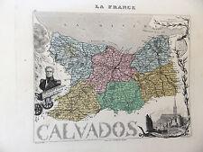 LA FRANCE ET SES COLONIES DEPARTEMENT DU CALVADOS VOIR DESCRIPTIF
