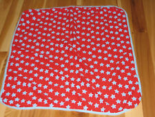 TCP THE CHILDRENS CHILDREN'S PLACE BABY BOY SWADDLE BLANKET RED BLUE STAR COTTON