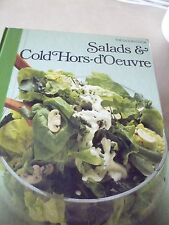 THE GOOD COOK BOOK  SALADS AND COLD HORS D'OEUVRE