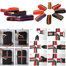 4.2m Password Coded Lock Luggage Suitcase Backpack Bag Strap Band Belt Name Tag