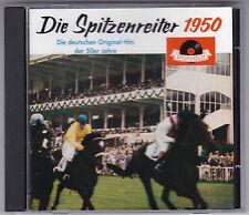 DIE SPITZENREITER 1950 CD ALBUM POLYDOR VARIOUS ARTISTS 18 TITEL