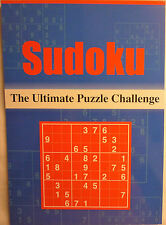 Sudoku: The Ultimate Puzzle Challenge Pad Book (124 Puzzles Easy or  Difficult)