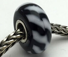 Authentic Trollbeads Ooak Universal Unique (165) Glass Bead Charm Fits All