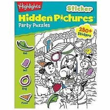 Highlights Sticker Hidden Pictures® Party Puzzles, Children, Highlights for, Goo