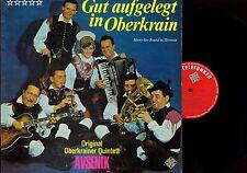 LP--ORIG OBERKRAINER QUINTETT AVSENIK--GUT AUFGELEGT IN OBERKRAIN