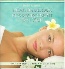 BODY AND SOUL HEALING MOODS PIANO AND RAIN SHOWERS RELAXATION SPA MUSIC CD