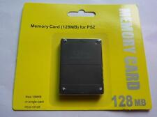 New 128MB Megabyte Memory Card Data For Sony PlayStation 2 PS2 Slim Game Console